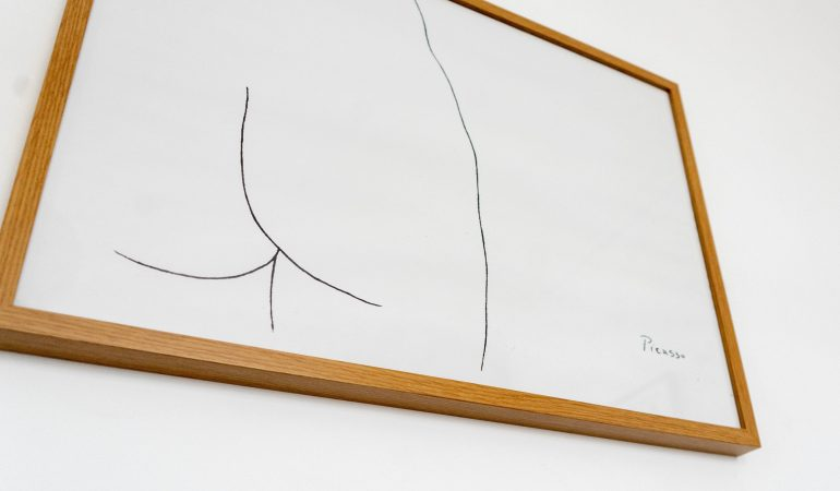 Pablo Picasso, Skizze
