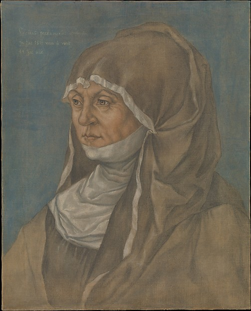 Portrait of a Woman, Said to Be Caritas Pirckheimer (1467–1532)