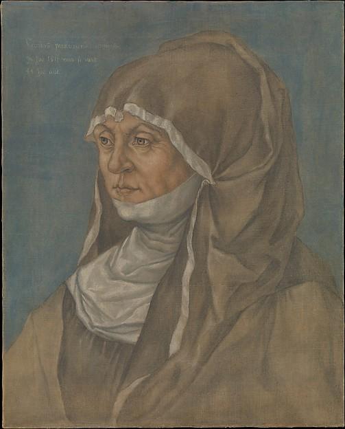 Portrait of a Woman, Said to Be Caritas Pirckheimer (1467–1532)