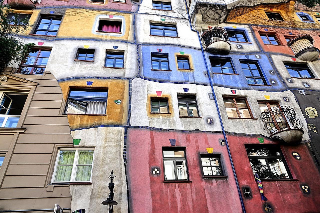 Zukunftsvisionär Friedensreich Hundertwasser Internationale Kunst