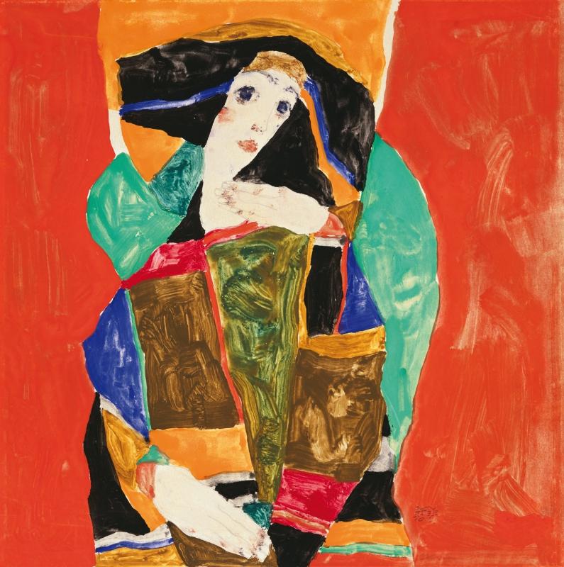 Egon Schiele, Damenbildnis
