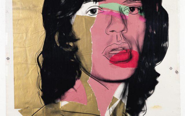 Andy Warhol, Mick Jagger 1975