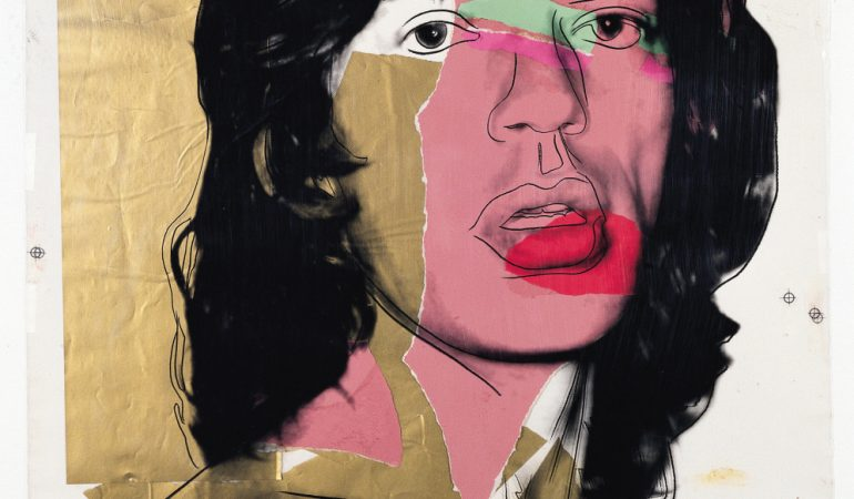 Andy Warhol Mick Jagger, 1975 Siebdruck, Acetat auf Papier / Silkscreen, acetate on paper 110 x 73 cm mumok Museum moderner Kunst Stiftung Ludwig Wien, Leihgabe der Österreichischen Ludwig-Stiftung / On loan from the Austrian Ludwig Foundation, seit / since 1981 Photo: mumok © The Andy Warhol Foundation for the Visual Arts, Inc. / Licensed by Bildrecht, Wien, 2018