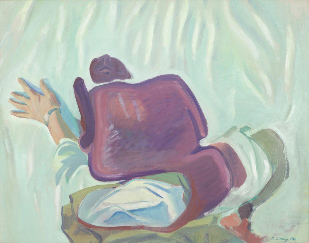 Pfingstselbstporträt, Maria Lassnig