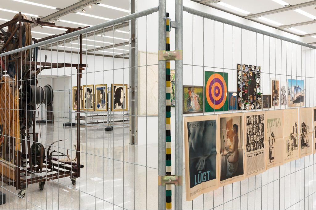"""Ausstellungsansicht """"55 Dates"""" Mumok"""