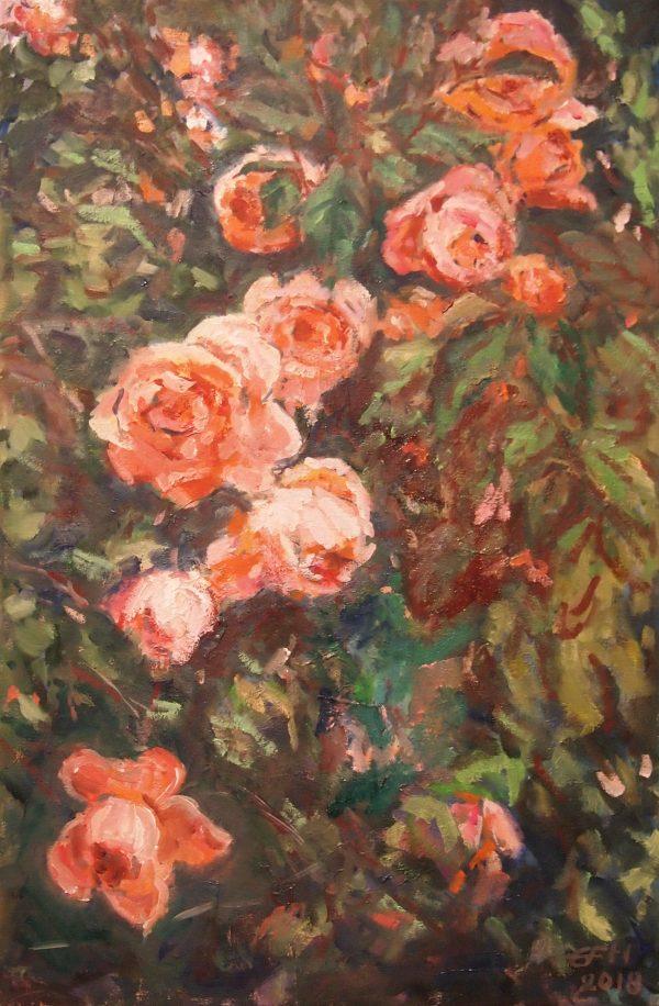Roses,Ellen Fasthuber-Huemer