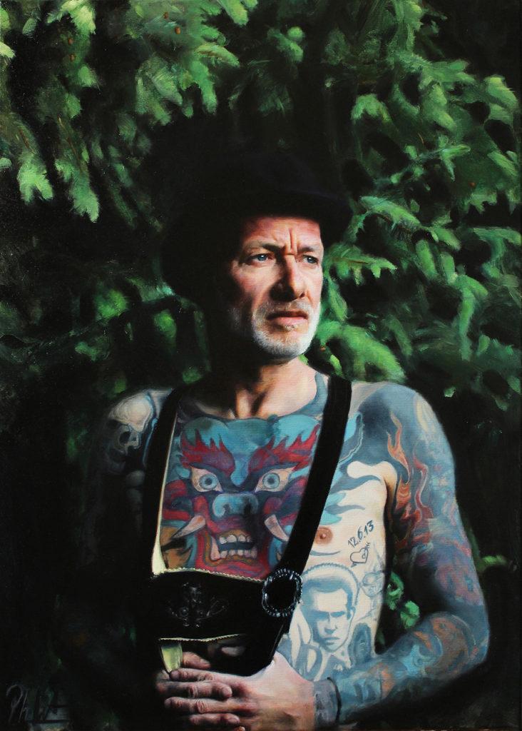 Phil Walter - Portrait Robert Brock