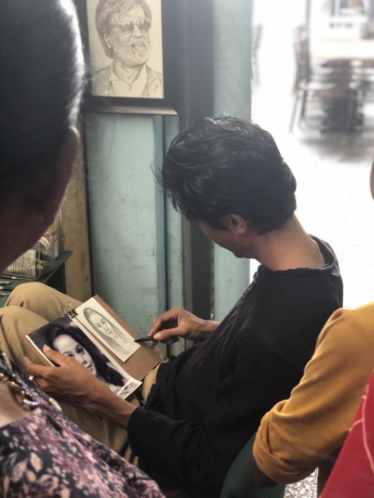 Porträtmaler, Kuala Lumpur